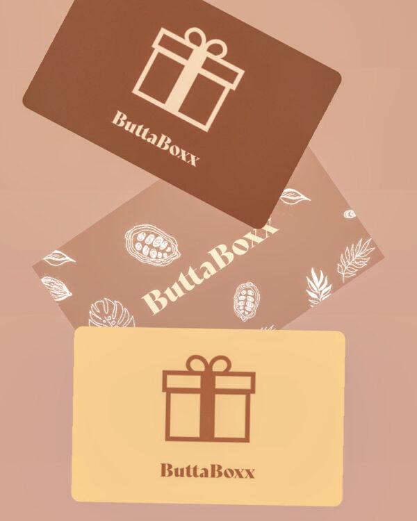 Buttaboxx Gift cards
